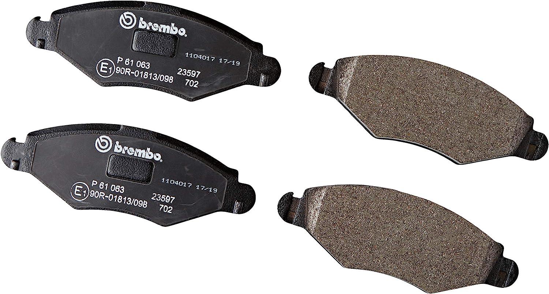 Brembo P 61 063 Bremsbelagsatz Scheibenbremse 4 Teilig Auto