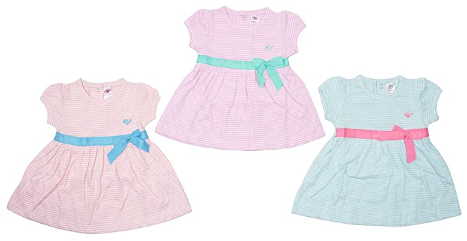 e8b6420af Zero Baby Girl Frock Set, Size: 12-18 Months,Colour: Pink,Purple,Red ...