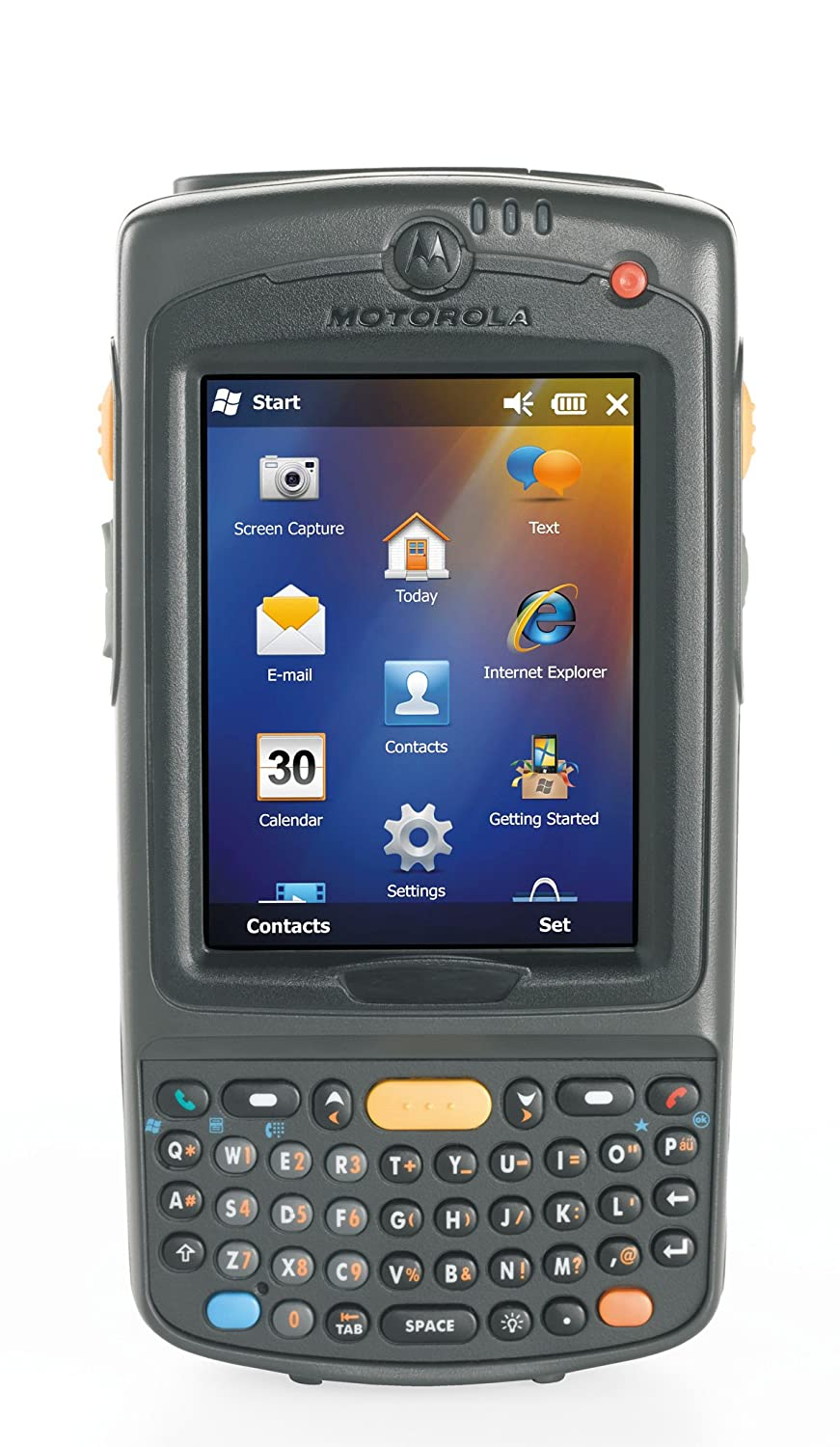 Motorola MC75A Barcode Scanner Wi Fi 802.11a b g 2D Imager Scanner Windows Mobile 6.5 MC75A0 P30SWRQA9WR