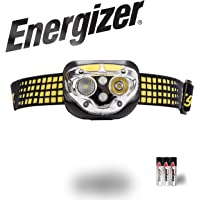Energizer Vision LED Headlamp Flashlight, Ultra Bright High Lumens, for Camping, Running, Hiking, Outdoors, Rechargeable Headlamp Option