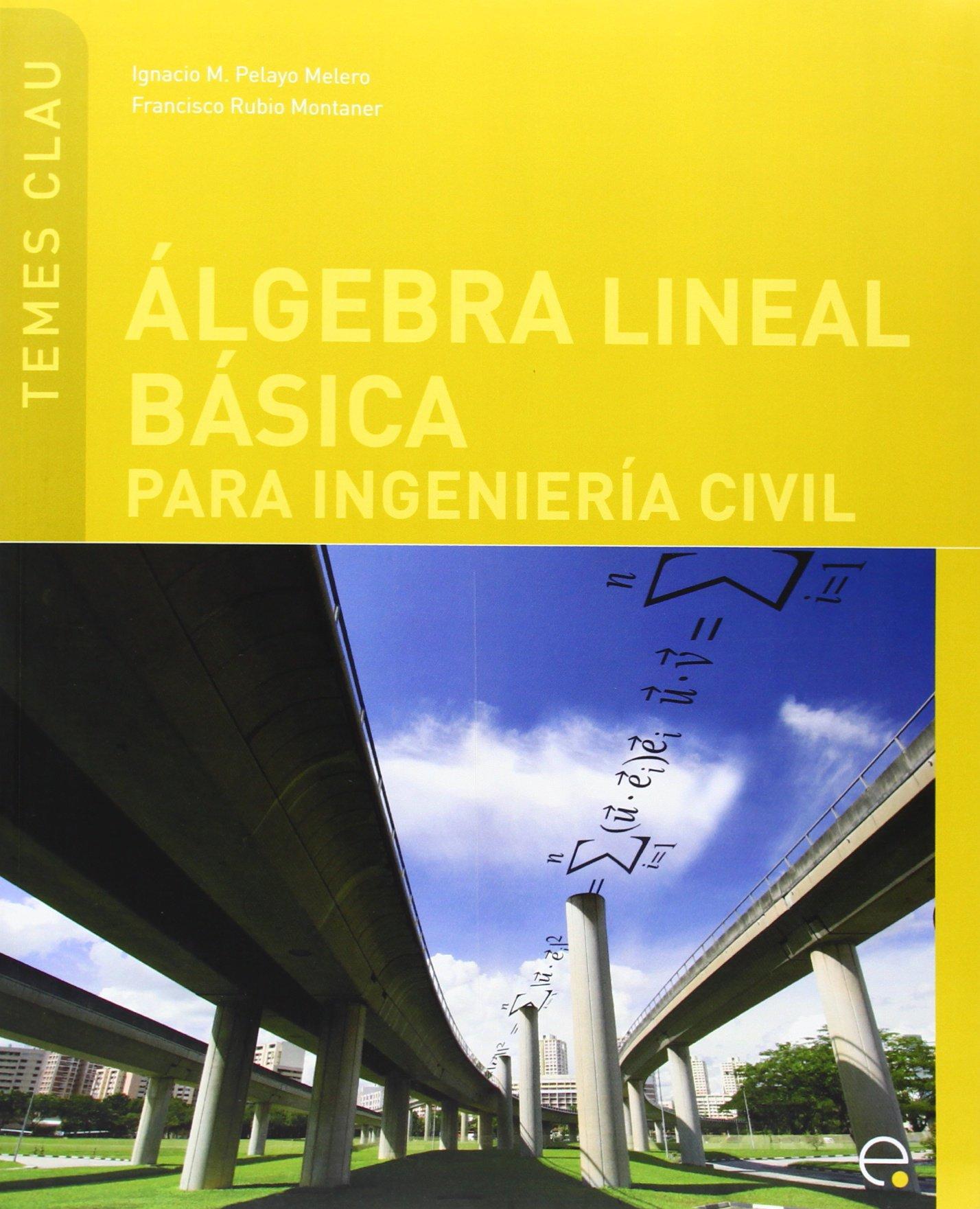 Lgebra Lineal B Sica Para Ingenier a Civil PDF