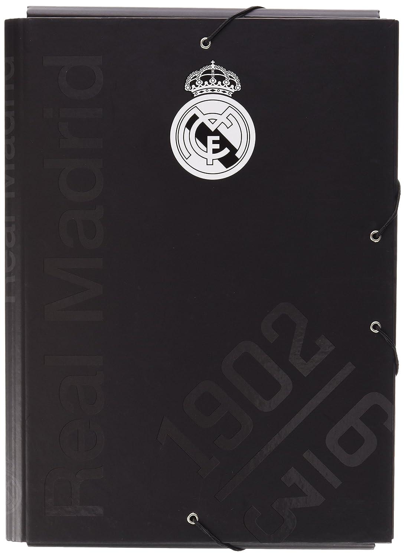 Grupo Erik Editores CM15018 Cartella con Elastici Real Madrid