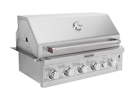 Amazon.com: KitchenAid 740-0781 Built Propane Gas Grill, Stainless Steel: Garden & Outdoor