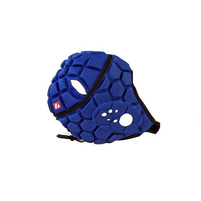 3 opinioni per Barnett Heat Pro casco da rugby da competizione, Blu Reale