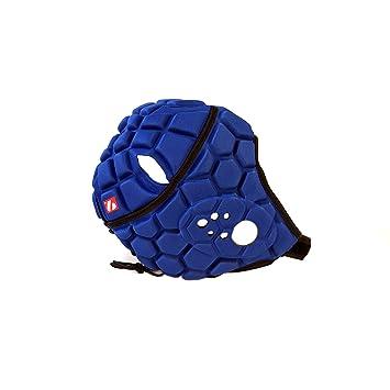 Heat Pro Rugby – Casco, Juego profesional, color azul, azul cobalto