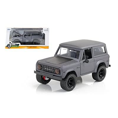 Jada Just Trucks 1973 Ford Bronco 1/24 Scale Diecast Model Car: Toys & Games