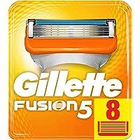Gillette Fusion5 Scheermesjes, Navulverpakking, Brievenbus Geschikte Verpakking, 8 Stuks