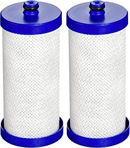 Waterdrop WF1CB Refrigerator Water Filter, Compatible with WF1CB, WFCB, RG100, NGRG2000, WF284, 9910, 469906, 469910, Pack of 2