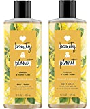 Love Beauty And Planet Coconut and Ylang Ylang Tropical Hydration Body Wash, 16 oz, 2 count