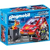 PLAYMOBIL 9235 City Action - Firefighter with Car