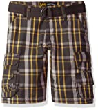 LEE Boys' Big Dungarees Belted Wyoming Cargo