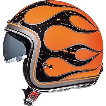 Casco de motocicleta con cara abierta, de MT Products MT Le Mans, modelo SV