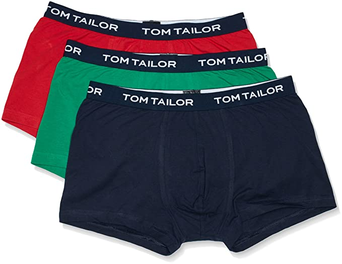 fc4a69e4741a Tom Tailor Men's Trunk Pack of 3: Tom Tailor: Amazon.co.uk: Clothing