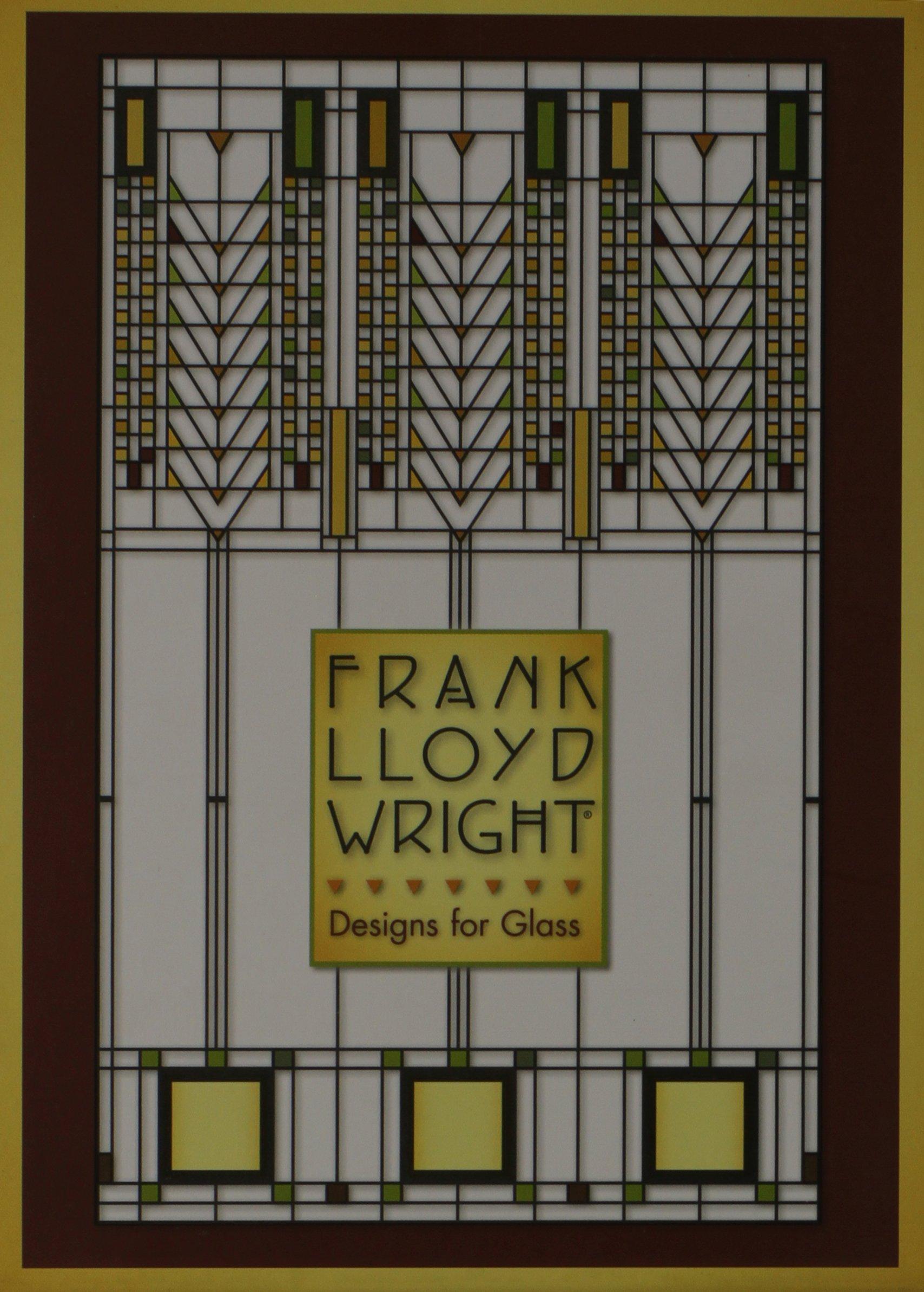 frank lloyd wright designs for glass boxed note cards frank lloyd