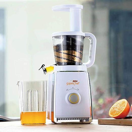 Licuadora extracción lenta Superchef SL100 para frutas y verduras ...