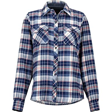 3ee41f67ff2 Marmot Women's Bridget Midweight Flannel Long Sleeve at Amazon Women's  Clothing store: