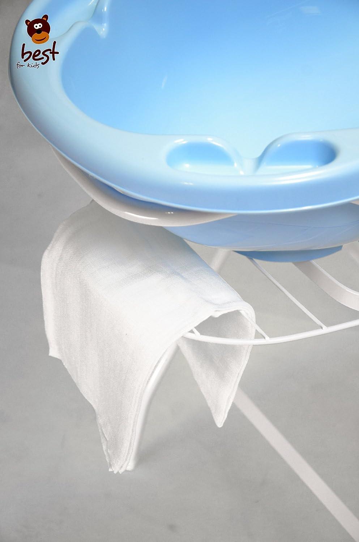 avec ou sans plateau Best For Kids Support universel pour baignoire b/éb/é 84/et 100/cm blanc