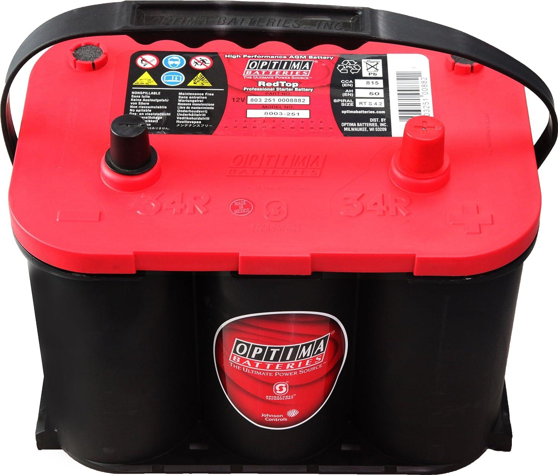 OPTIMA BATTERIES [ オプティマバッテリー ] 国産車バッテリー [ レッドトップ ] RedTop 120D26L B00BHBOVLA