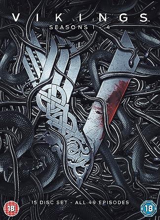 Amazon Com Vikings Seasons 1 4 Dvd 2017 Movies Tv