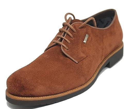Cordones En Becerro Piel Zapato Lisa Ante Impermeable De Pala kuOiPTZX