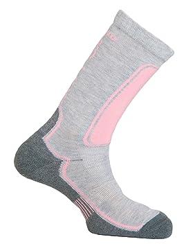 MUND Roller - Calcetines para hombre, color gris/rosa, talla XL (46-49): Amazon.es: Zapatos y complementos