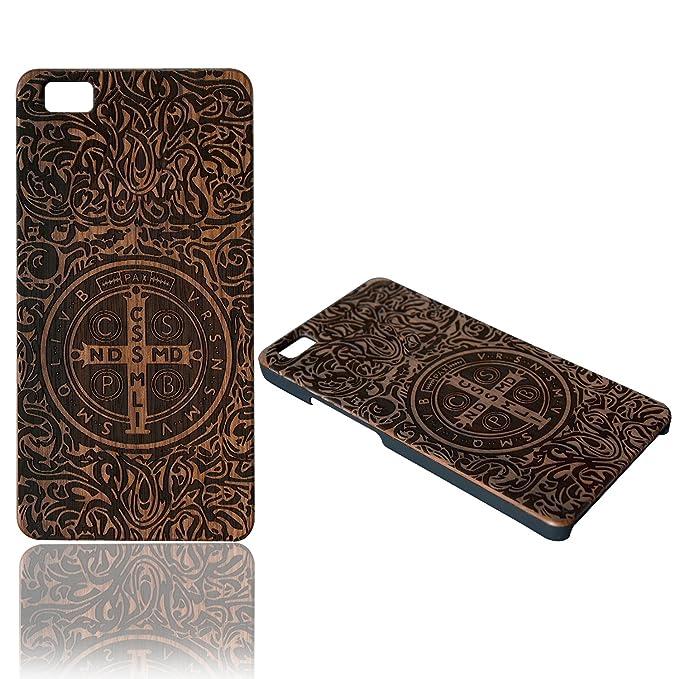 2 opinioni per Custodia Huawei P8 Lite Wooden Case Cover,Vandot Ultra Sottile Handmade Legno