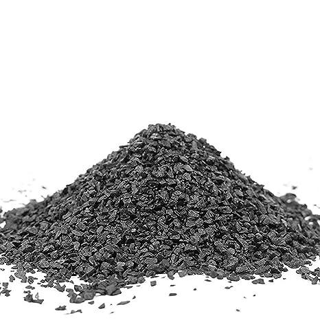 15 kg natural negro acuario sustrato arena grafulación 1 – 3 mm – Ideal para plantas