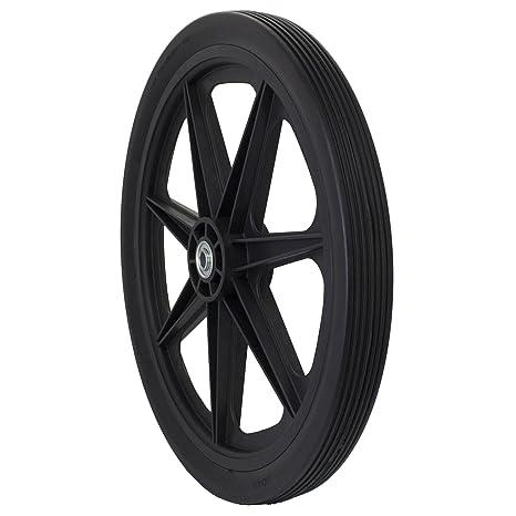 Marathon 20x2.0 Flat Free Cart Tire On Plastic Rim, 3/4u0026quot;
