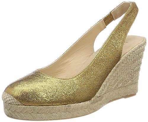 Unisa Cubela_se, Alpargata para Mujer, Dorado (Old Gold), 39 EU: Amazon.es: Zapatos y complementos