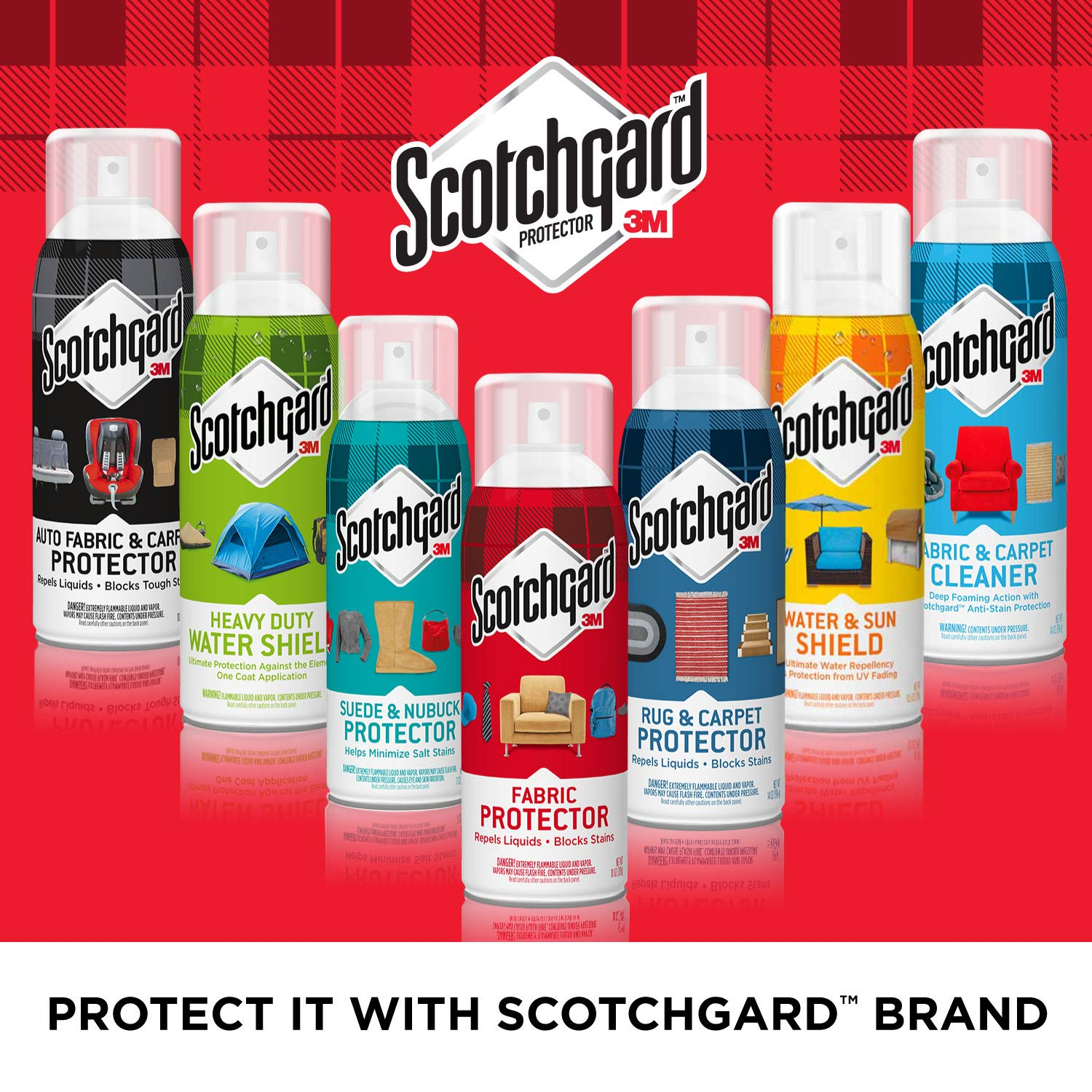 Scotchgard Fabric and Upholstery Protective Spray, 10 oz. (5 Pack)