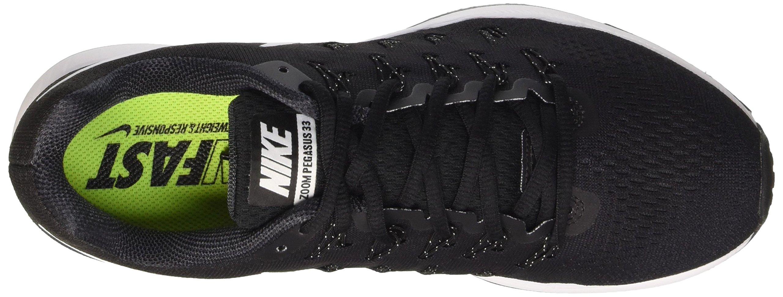 Nike Men's Air Zoom Pegasus 33, Black/White/Anthracite/Cool Grey - 9.5 D(M) US