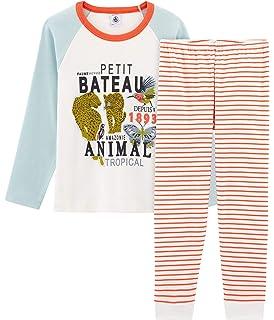 2011ebbbfa3b6 Petit Bateau Bresil Ensemble de Pyjama Garçon  Amazon.fr  Vêtements ...