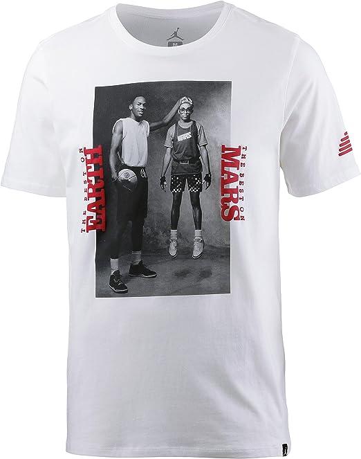 NIKE M Jsw tee Mars Blk Photo Camiseta Hombre