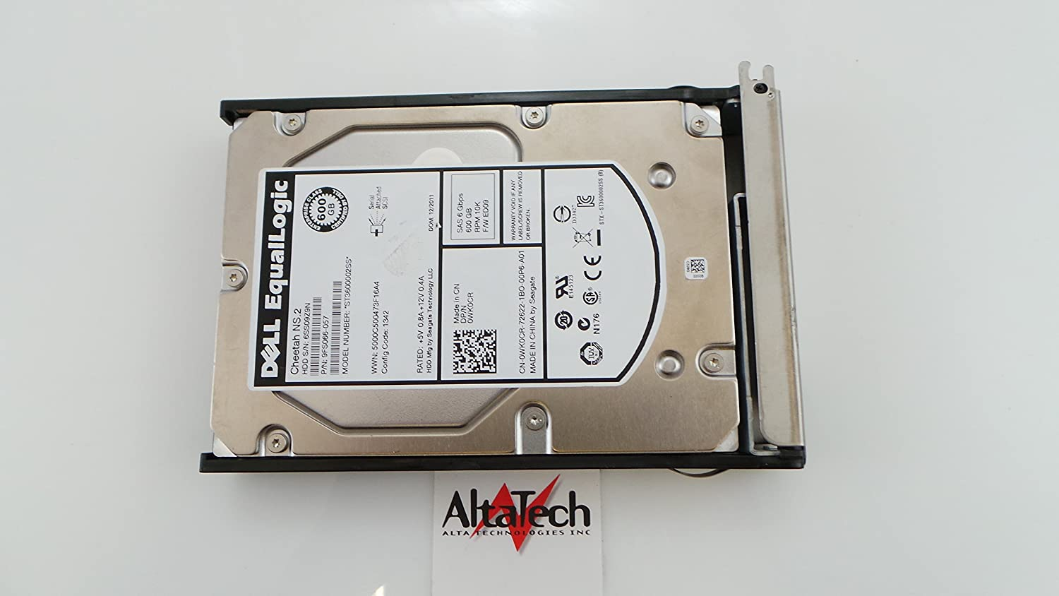 DELL ST3600002SS-DELL-EQ DELL 600GB 10K SAS 3.5 6Gbps HARD DRIVE EQUALLOGIC
