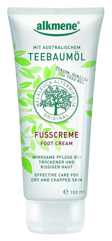 alkmene tea tree oil foot cream 100 ml