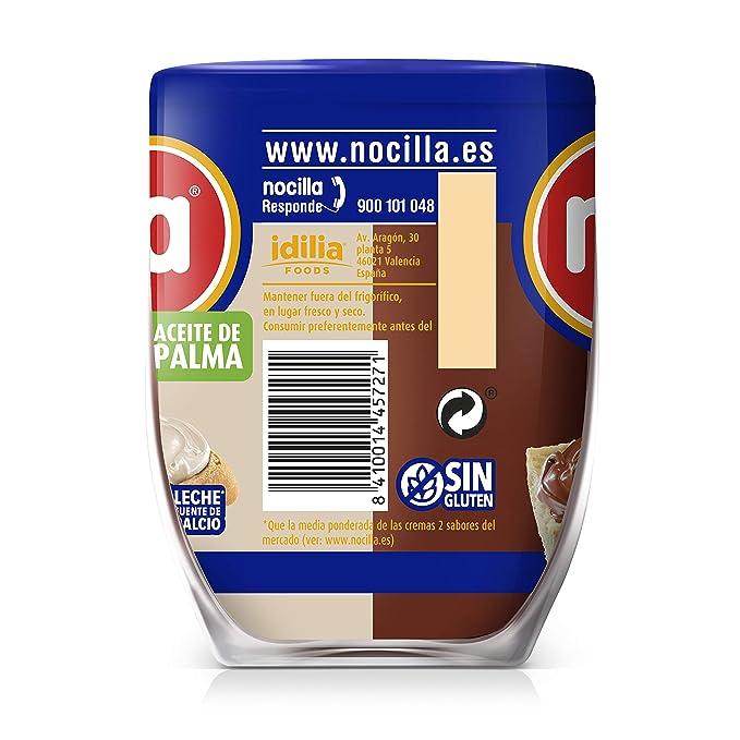 Nocilla Chocoleche: Crema de cacao natural y leche con avellanas ...