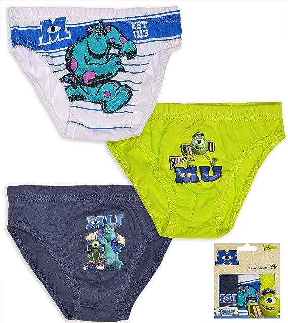 Disney Pixar patrón de costura para pantalones palo de golf para niños ropa interior Breifs Monsters