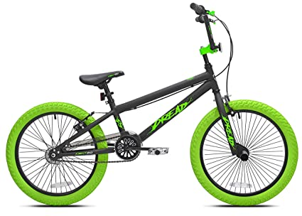 "Offer an Amazingly Smooth,Stylish Ride for Kids with Sense of Adventure with Kent 20"" Boys',Dread BMX Bicycle,Green,for Ages 8-12,Exciting Gift Idea for Their Amazing Tricks best bmx bike"