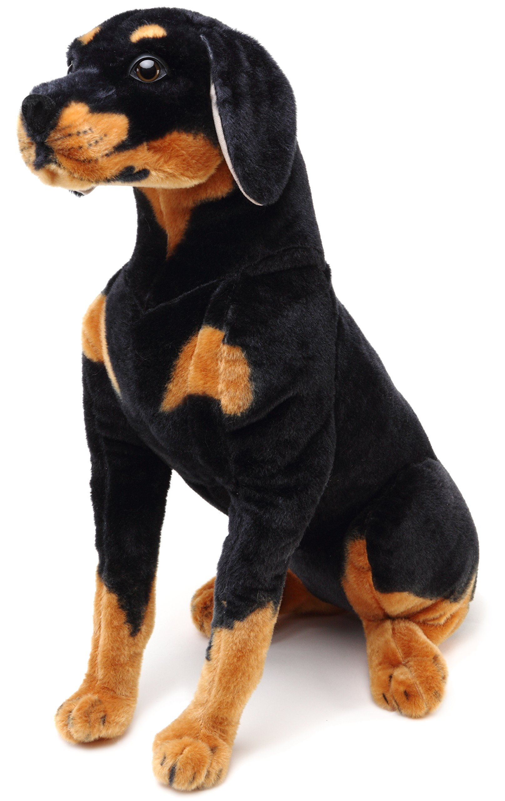 VIAHART Robbie The Rottweiler | Over 2 Foot Tall Stuffed Animal Plush Dog | Shipping from Texas | by Tiger Tale Toys by VIAHART