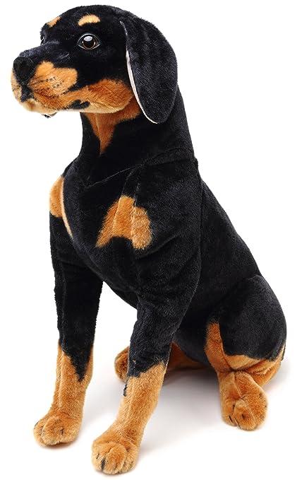 Amazoncom Viahart Robbie The Rottweiler Over 2 Foot Tall Stuffed