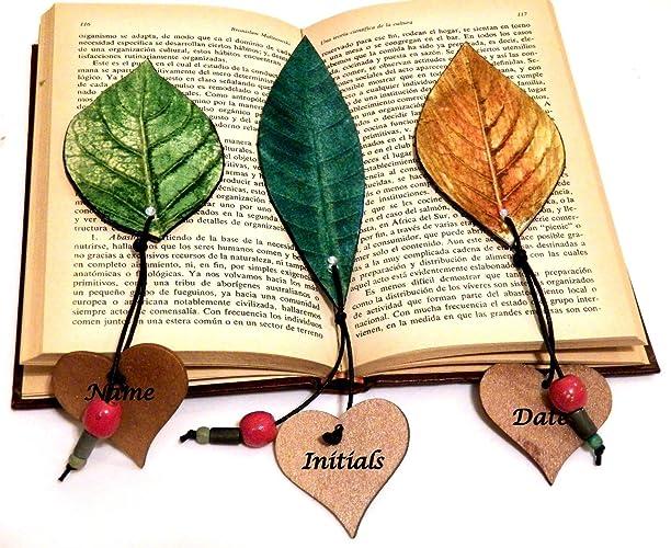 amazon com custom bookmarks personalized bookmark gift book