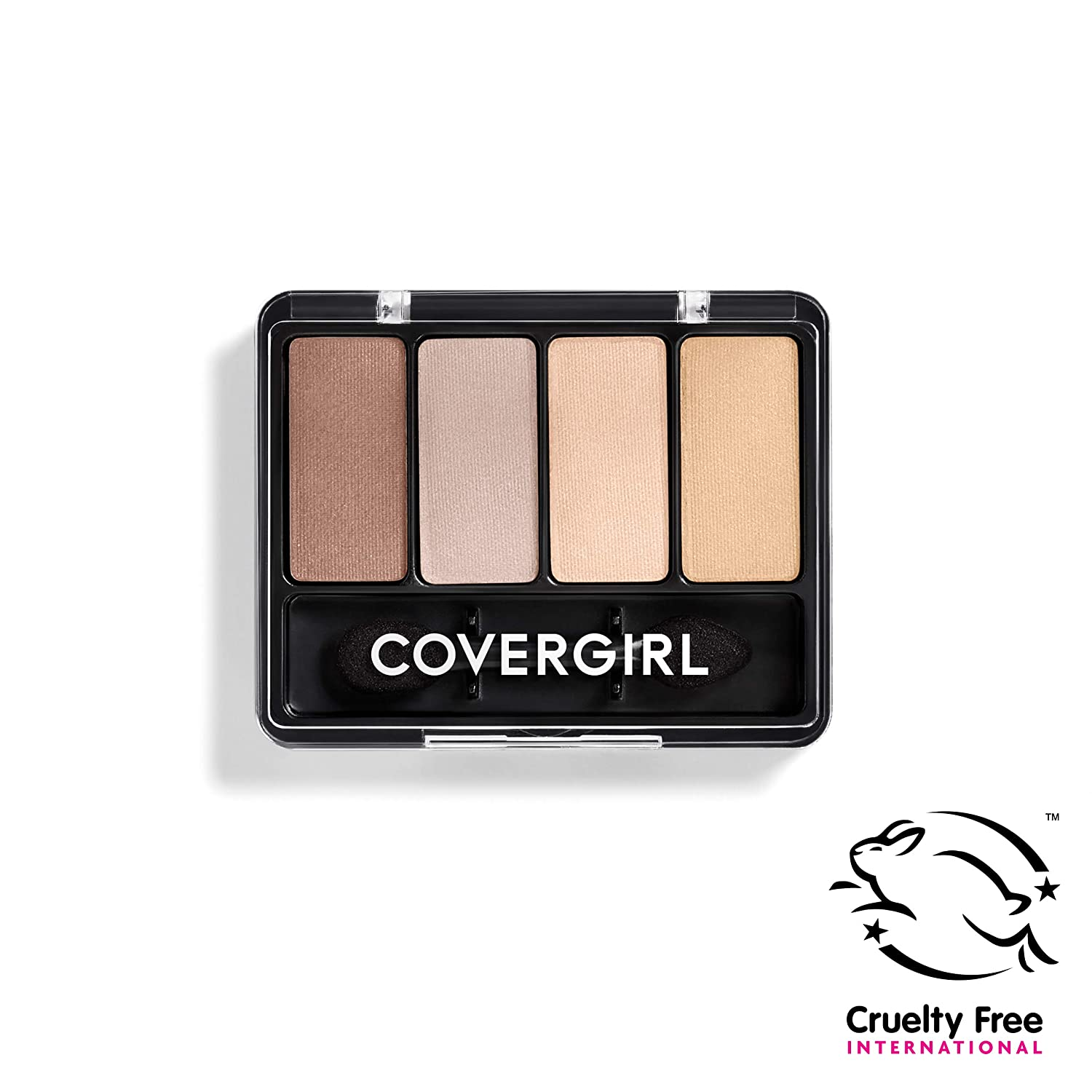 Covergirl Eye Enhancers Eyeshadow Kit, Sheerly Nudes, 4 Colors