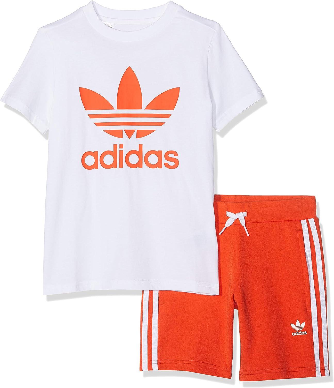 adidas Short Tee Set Abbigliamento Altro Unisex Bambini