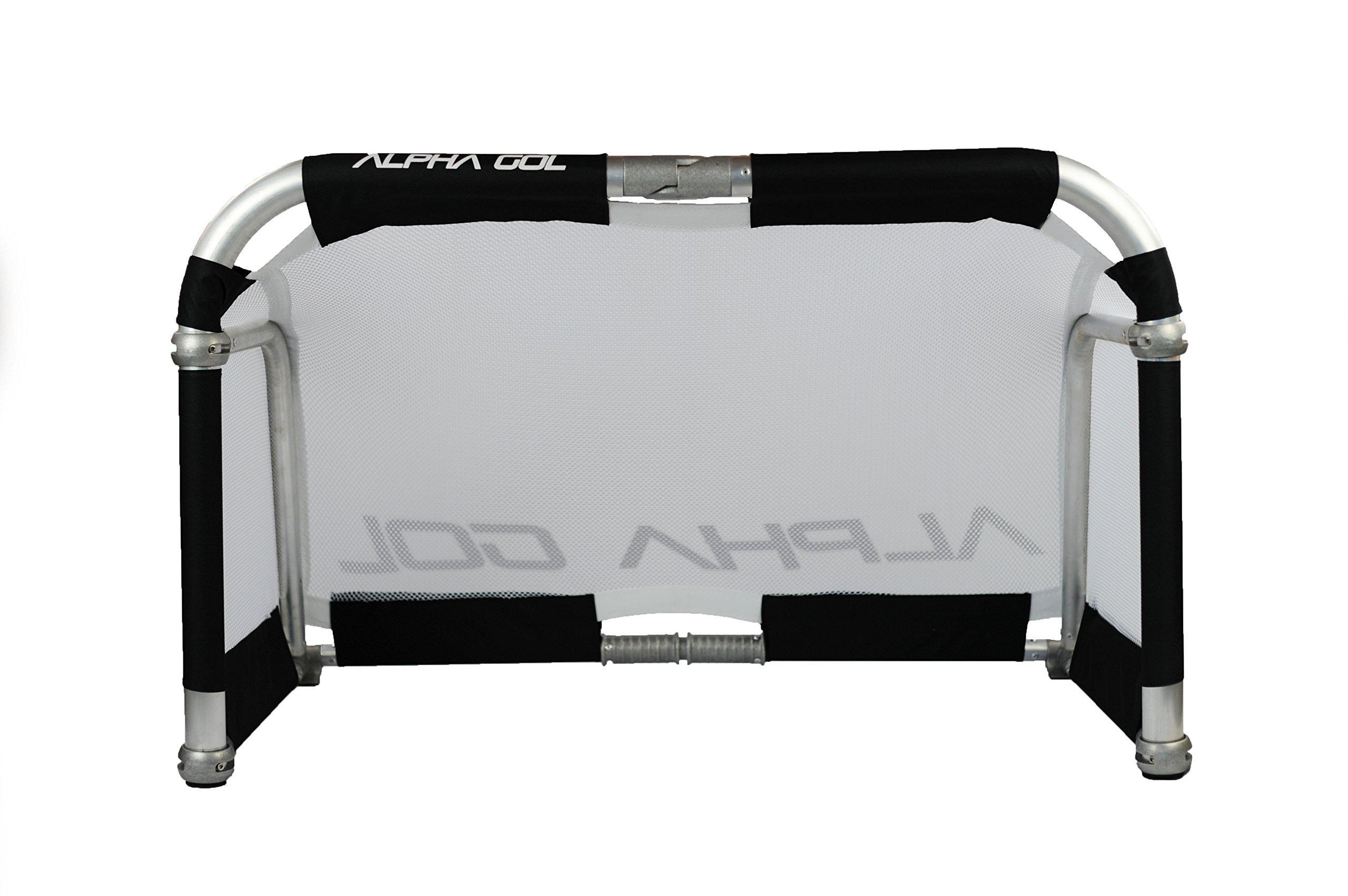 Alpha Goal - Aluminium Folding Goal - 3 feet by 5 feet with Carrying Case