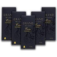 Grano Milano Crema Coffee Pods | Nespresso* Original line Compatible Capsules Made in Italy | Medium-Bodied | Medium…