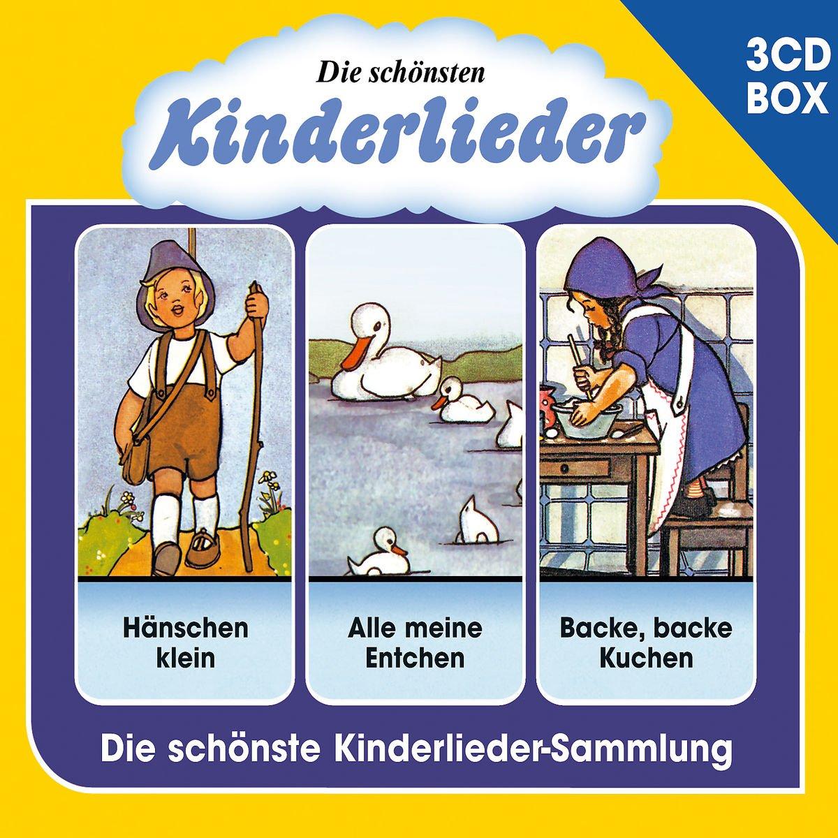Die Schönsten Kinderlieder   3 CD Liederbox Vol. 1   Various: Amazon.de:  Musik