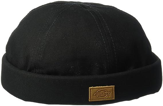51577814bb1e00 Dickies Men's Canvas Docker Cap, Black One Size at Amazon Men's ...