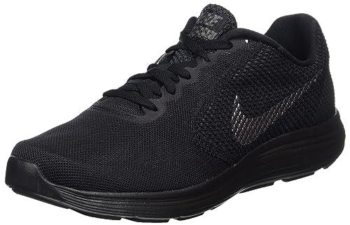 Nike Men's Revolution 3 Running Shoes, Black (Black/Metallic Dark  Grey/Anthracite