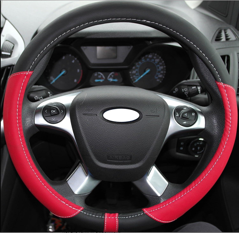 37 to 39cm PVC Leather Warm Feel fits Round Steering Wheel Wheels Wheels N Bits