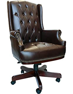 Chesterfield Burgundy Colour Office Chair Amazoncouk Kitchen